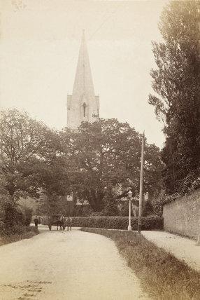 Christ Church, The Green, Southgate, c. 1870