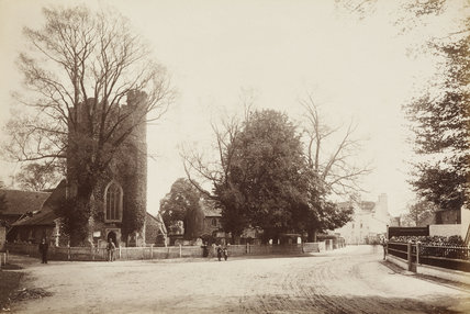 St. Mary's Church, Hadley' 1870