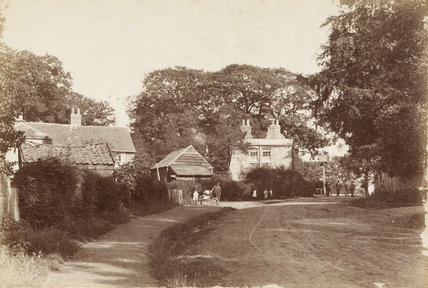 Bourne Hill, Southgate, c 1870