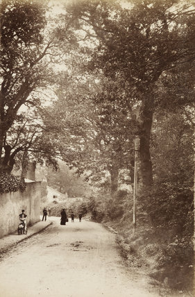 Colney Hatch Lane, Friern Barnet, c. 1870