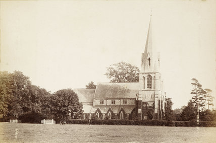 Christ Church in Southgate; 1870