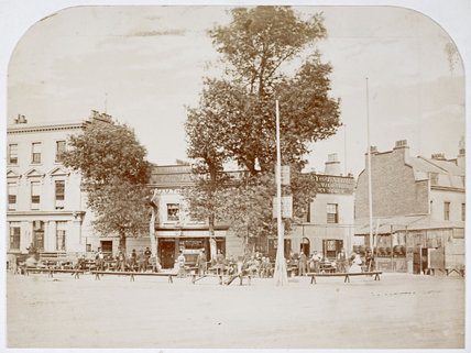 William IV Public House, Pimlico; c.1890