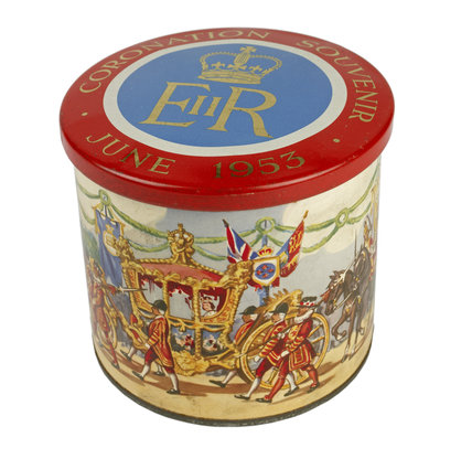 Coronation Day commemorative packaging: 1953