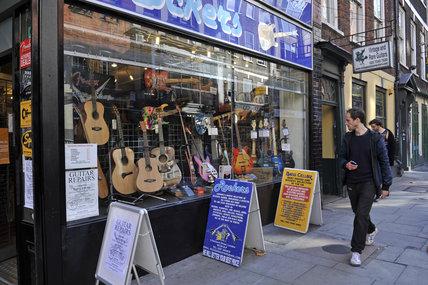 Rockers Guitar shop; 2011