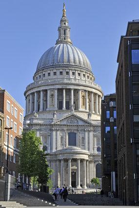 View of St.Pauls Cathedral; 2011