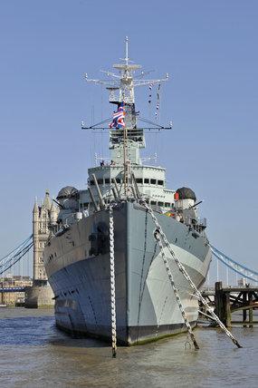 HMS Belfast; 2010