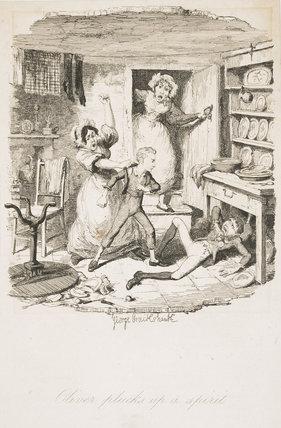 Oliver plucks up a spirit: 1837