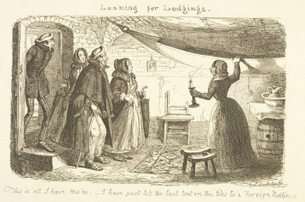Looking for Lodgings; 1851