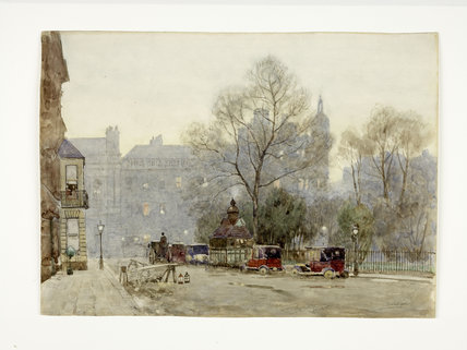 View of St. James's Square, c 1910