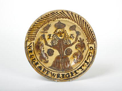 Queen Anne platter; 1709