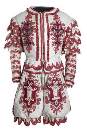 Grimaldi the Clown costume: 1801-1823