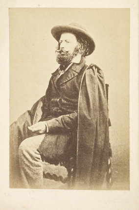 Portrait of Alfred Tennyson: c.1865