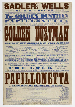 Double-crown playbill: 1864-1866