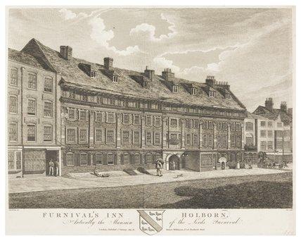 Furnival's Inn, Holborn: 1891