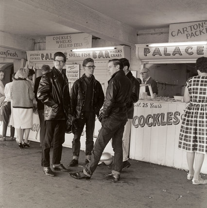 Cockle stall: 1963