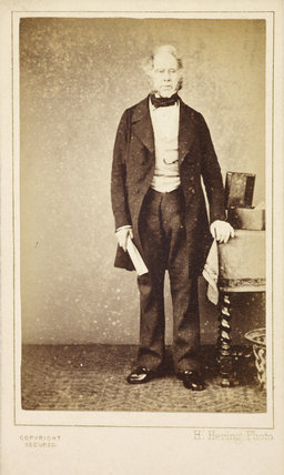 Portrait of Viscount Palmerston: .1860