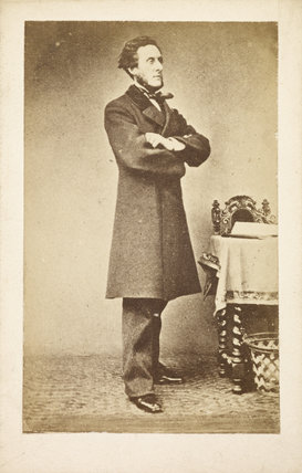 Portrait of Anthony Ashley-Cooper: c.1865