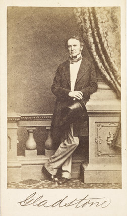 Portrait of William Ewart Gladstone: 1861