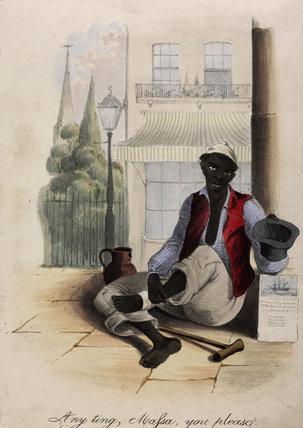 Any Ting, Massa, You Please; c.1845