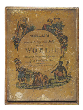 A New Map of the World; c. 1820