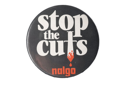 Lapel badge: c.1982
