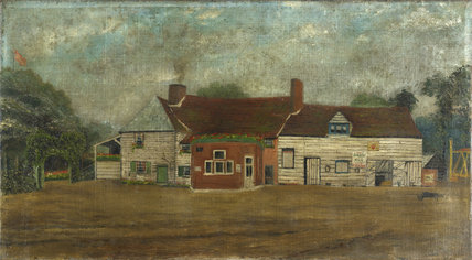 The Green Man Inn, Wembley; 1899