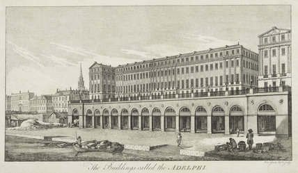 The Buildings called the Adelphi; 1772