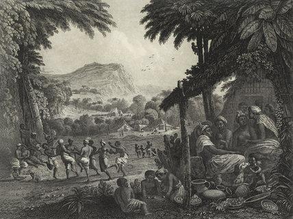 Le Mariage des Nègres; 1795
