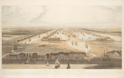Isle of Dogs near Limehouse; 1802