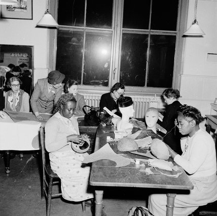 Milinary course at Paddington Technical College: 1952