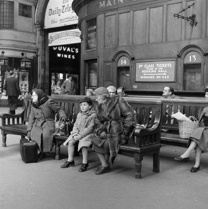 Victoria Train Station; c 1955