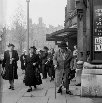 Old Age Pensioners Rally; 1954