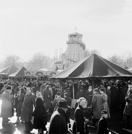 Hampstead Fun Fair; 1954