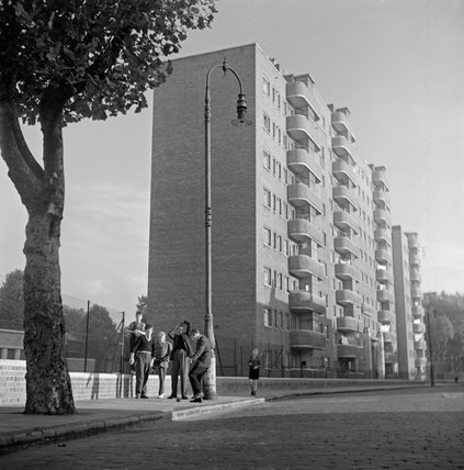 New housing in Camden in the mid 1950s.
