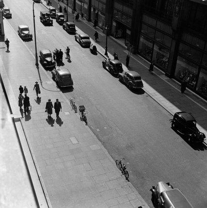 Queensway in Bayswater c. 1952