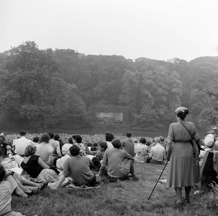 Open Air Concert, Kenwood House; 1955