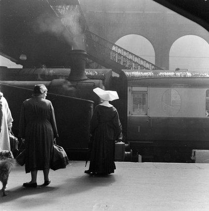 Kings Cross Station; c1955