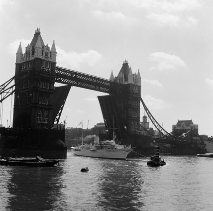 Tower Bridge; 1952
