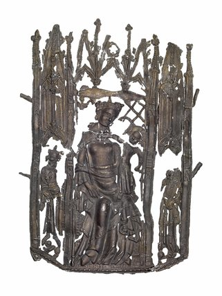 Our Lady Undercroft Pilgrim Badge: 14th Cebtury