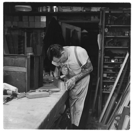 Carpenter at the London Palladium: 1956