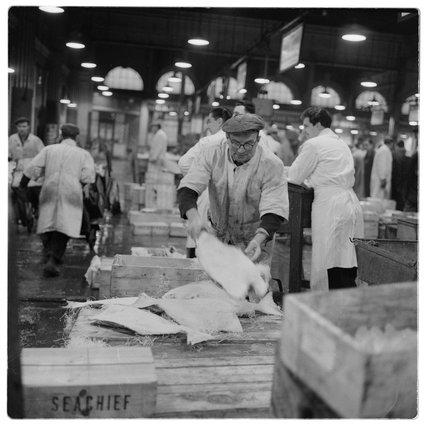 A Billingsgate Market Salesman: 1958