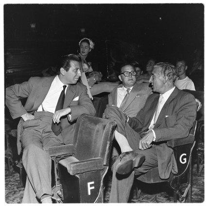 Management at the London Palladium: 1956