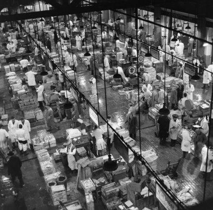 Billingsgate Market Trading Floor: 1958
