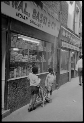 Indian Grocery shop: 1974