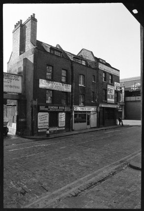 Buildings in Spitalfields: 1978