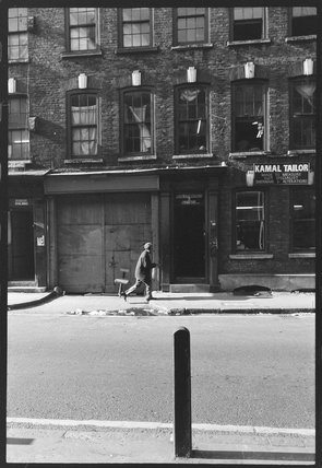 Street scene in Spitalfields: c.1978