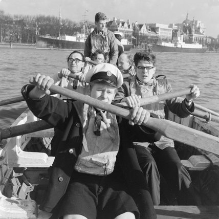 River Thames Training for Duke of Edinburgh Award youth leaders; 1963
