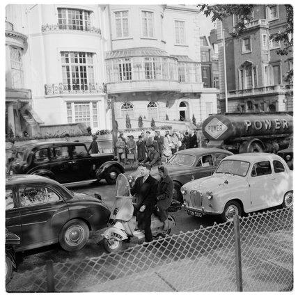 London traffic; c.1957