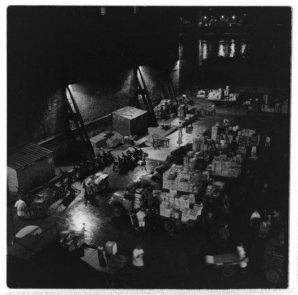 Early morning at Billingsgate Market; 1958.
