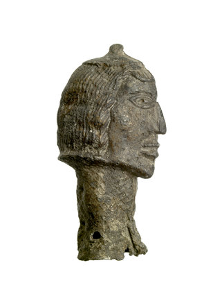 Man's head; c.1200
